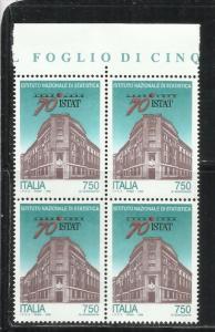 ITALIA REPUBBLICA ITALY REPUBLIC 1996 FONDAZIONE DELL´ISTITUTO NAZIONALE DI ...