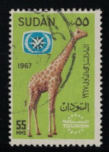 Sudan # 199   1967   Used     SCV $ .75
