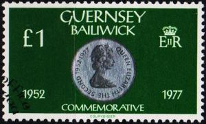 Guernsey. 1979 £1 S.G.196 .Fine Used