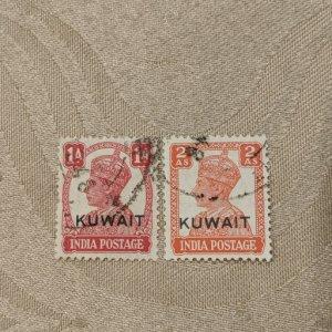Kuwait 62, 64 VF, CV $10