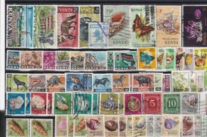 kenya   stamps ref r11077