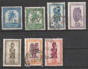 #211,212,233,235-6,239-244 Belgium Congo Used