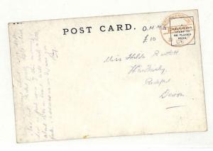 AC288 1900 GB *SOUTHAMPTON* Devon H.M Nevasa Postcard {samwells-covers}PTS