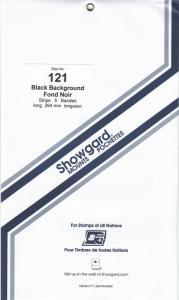 SHOWGARD BLACK MOUNTS 264/121 (5) RETAIL PRICE $11.95