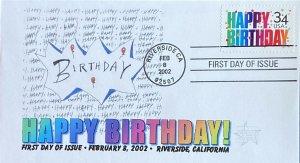 Future Postmaster General (FPMG) 3558 Happy Birthday Riverside CA 2-8-2