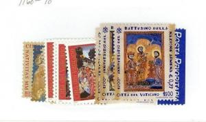 Vatican City Scott 1168-1178 NH    [ID#423863]