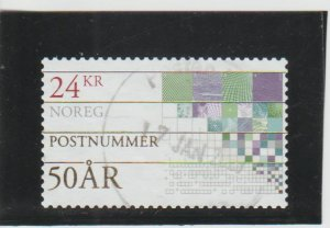 Norway  Scott#  1859  Used  (2018 Norwegian Postal Codes)
