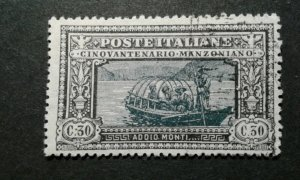 Italy # 167 used (light cancel) e207 10601