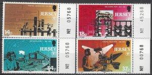 Jersey  540-3   MNH  Literacy Year  1990