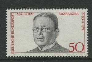 Germany -Scott 1201 - Definitive Issue -1975 - MNH -Single 50pf Stamps