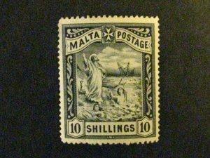 Malta #18 mint hinged  c203 491
