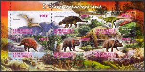 Djibouti 2013 Dinosaurs (2) MNH Cinderella !