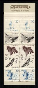 Sweden  803a booklet   MNH cat $ 6.50 aaa