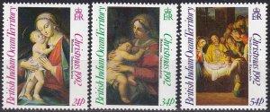 British Indian Ocean TY #129-31 MNH CV $6.00 (Z5016)