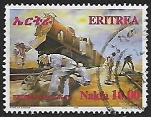 Eritrea # 376 - Railway Workers - used  -{BR17}