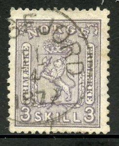 Norway # 13, Used. CV $ 160.00