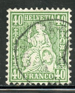 Switzerland # 47, Used. CV $ 65.
