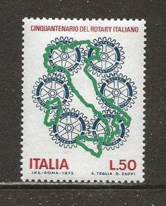 Italy Scott catalog # 1134 Unused HR