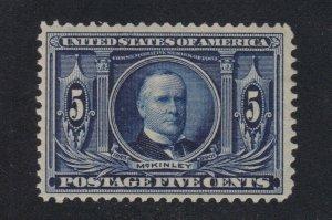 US 326 5c Louisiana Purchase Mint VF OG VLH SCV $70