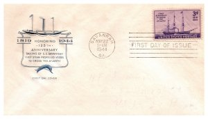 United States, Georgia, First Day Cover, Ships