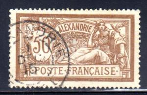 France Offices in Egypt (Alexandria) #27, 1915 cancel