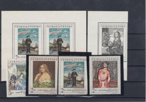 Czechoslovakia 1960's Mint Never Hinged Stamps  Ref: R7444