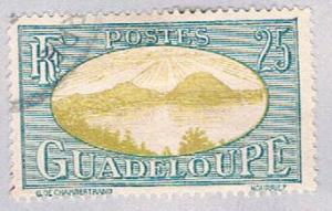 Guadeloupe 104 Used Saints Roadstead 1928 (BP30228)