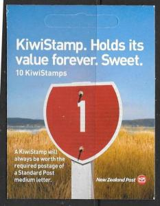 NEW ZEALAND SGSB147 2009 KIWISTAMPS  BOOKLET   MNH
