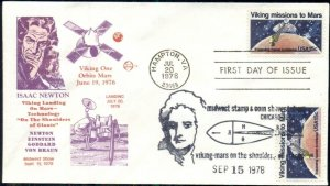 LOT OF 117, 1978 FDC'S VIKING LANDING ON MARS WITH CACHET & CANCEL