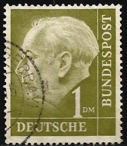 Germany 1954 Scott# 719 Used