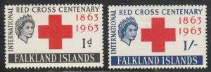 Falkland Islands #147-148 Mint Hinged Full Set of 2 cv $19.75