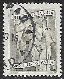 Yugoslavia # 343 - Technician - used....{Gn13}