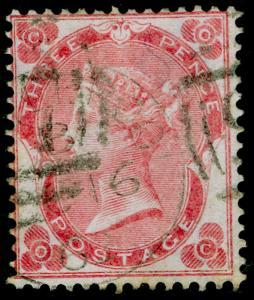 SG76, 3d bright carmine-rose, FINE USED. Cat £350. OC