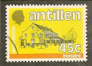 Netherlands Antilles  Scott    503   Bonaire   Used