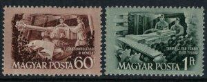 Hungary #1014-5*  CV $2.25