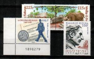 Wallis and Futuna Islands Scott 663-5 Mint NH (Catalog Value $17.50)