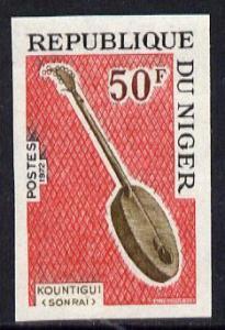 Niger Republic 1971 Kountigui (Sonrai) Musical Instrument...