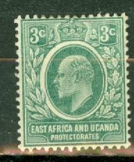 East Africa & Uganda 32 mint CV $17.50