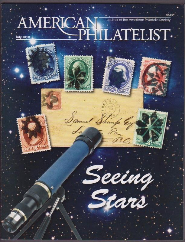 APS Magazine Jul 2010 , Seeing Stars / Star Postmarks - I Combine S/H