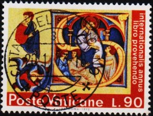 Vatican City. 1972 90L S.G.583 Fine Used