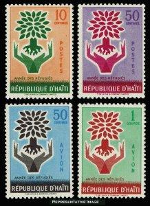 Haiti Scott 452-453, C152-C152 Mint never hinged.