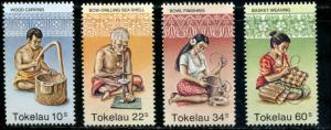 Tokekau SC# 81-4 Islander Hand Crafts set MNH