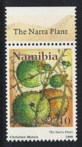 Namibia Narra Plant Cultivation Top Margin 1998 MNH SG#787