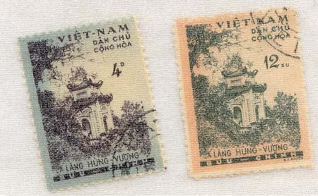 North Viet Nam - 1960 Hung Vuong Temple Set Used
