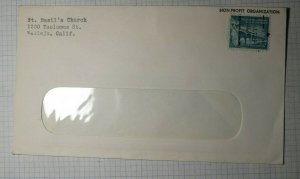 Vallejo Ca Pre Cancel Cover Postal History