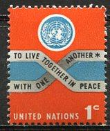 United Nations N.Y.; 1965: Sc. # 146: **/MNH Single Stamp