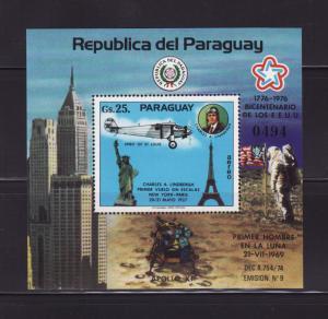 Paraguay 1744 MNH American Bicentennial, Planes