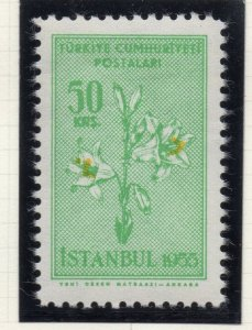 Turkey 1955 Early Issue Fine Mint Hinged 50k. NW-18220