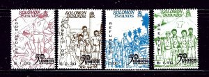 Solomon Is 917-20 MNH 2001 Refugees