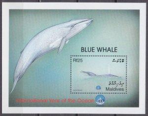 1999 Maldive Islands 3181/B418 Sea fauna 6,00 €